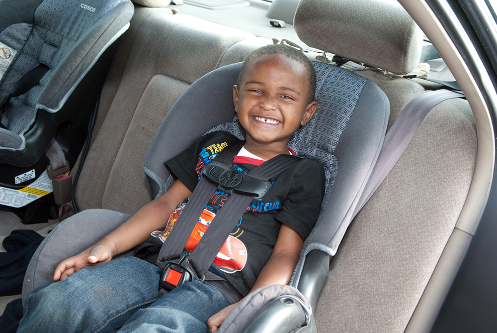 Car seat until age 8? Who actually