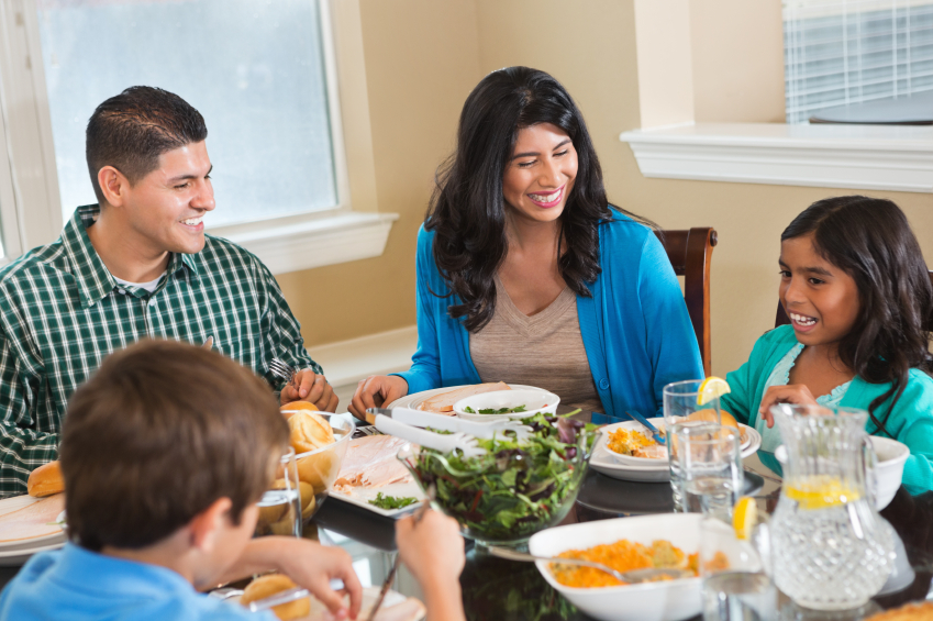 eating together 2018-6-15  news release national survey  found that 40 percent of american families eat dinner together only three or fewer times a week, with 10 percent never eating.